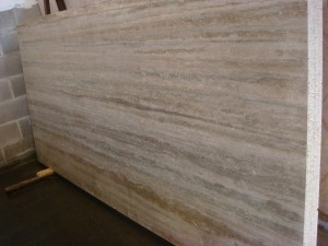 Silver Travertine P Marble Slab M